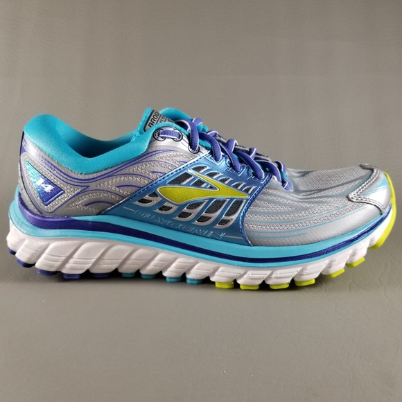 0ff81bee5d3 Brooks Glycerin 14 Women s Athletic Shoes 7.5 Gray